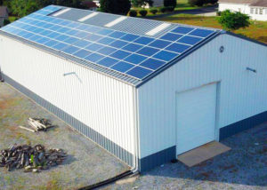 Warehouse Solar Installation